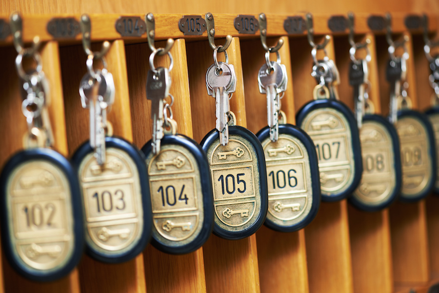 Hotel Room Numbers